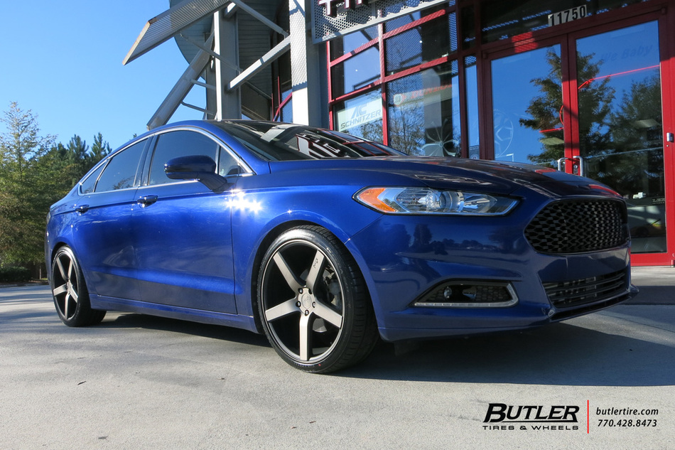 Can Am Car >> Ford Fusion with 20in Niche Milan Wheels exclusively from ...