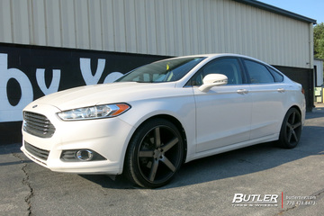 Ford Fusion with 20in Niche Milan Wheels