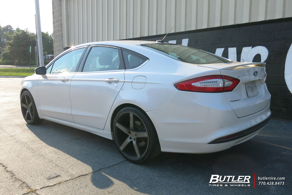 Ford Fusion With 20in Niche Milan Wheels Exclusively From Butler 2015 Oil Filter Location