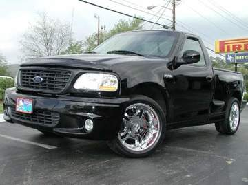 Ford Lightning with 20in Lowenhart LD1 Wheels