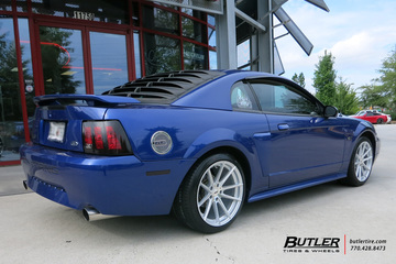 Ford Mustang with 18in TSW Bathurst Wheels