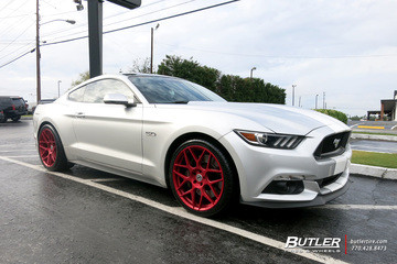 Ford Mustang with 20in HRE FF01 Wheels