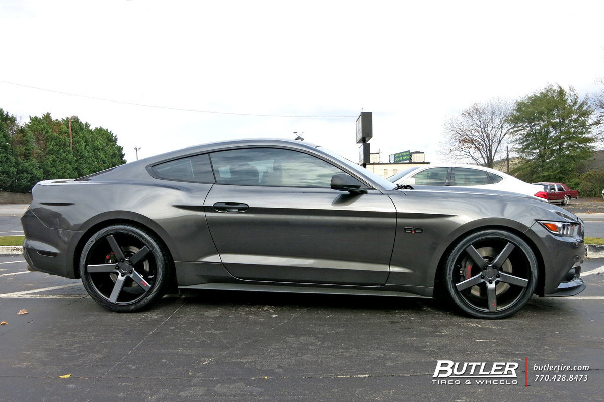 Ford Mustang With 20in Niche Milan Wheels Exclusively From