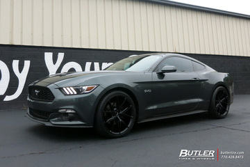 Ford Mustang with 20in Niche Misano Wheels