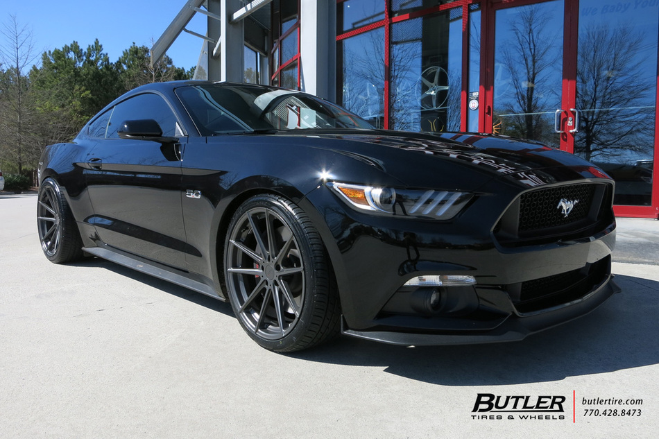 Ford Mustang with 20in TSW Bathurst Wheels exclusively ...