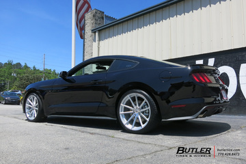 Ford Mustang with 20in TSW Bathurst Wheels