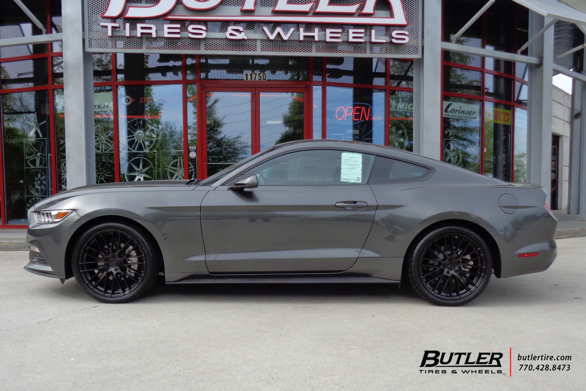 Ford Mustang with 20in TSW Max Wheels