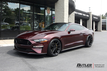 Ford Mustang with 20in TSW Watkins Wheels