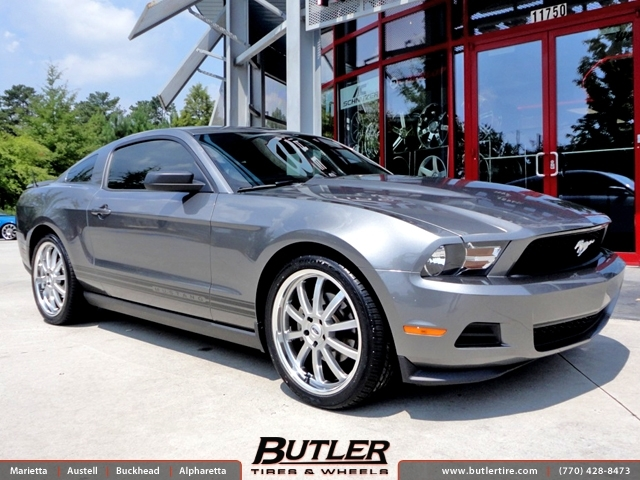 Infiniti Of Warwick >> Ford Mustang with 20in TSW Willow Wheels exclusively from Butler Tires and Wheels in Atlanta, GA ...