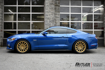 Ford Mustang with 20in Vossen GNS-3 Wheels