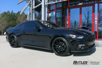 Ford Mustang with 20in XO Verona Wheels