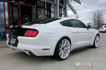 Ford Mustang with 21in Niche Misano Wheels