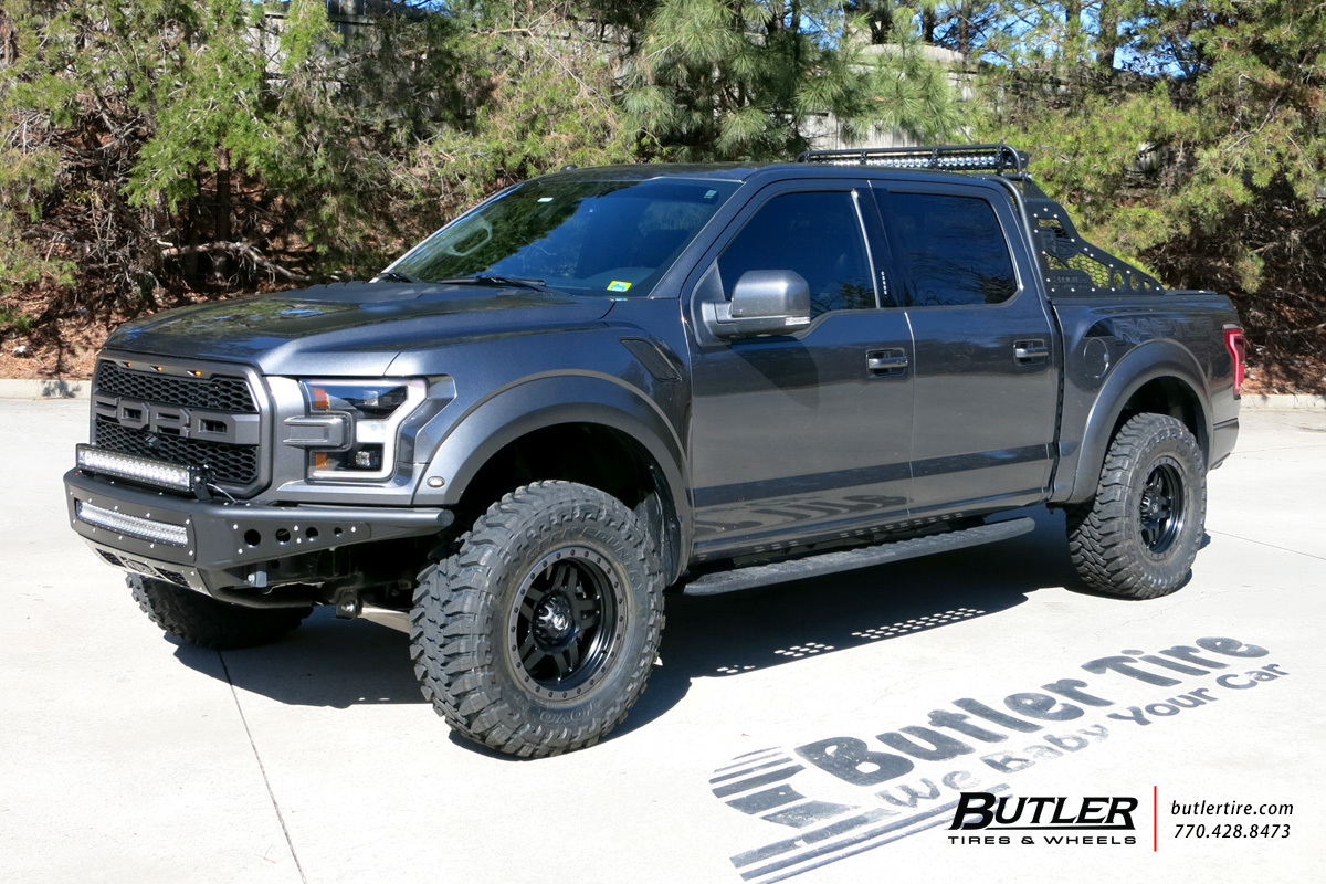 Ford Raptor with 17in Fuel Anza Wheels