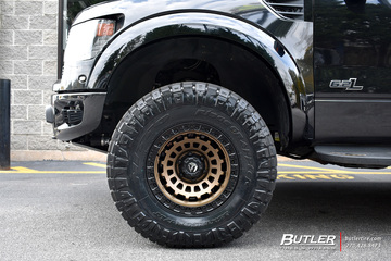 Ford Raptor with 17in Fuel Zephyr Wheels