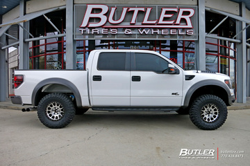 Ford Raptor with 17in Method Racing NV Wheels
