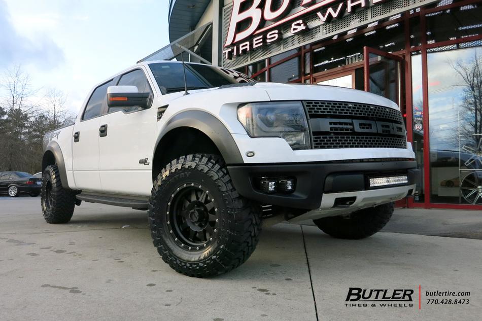 Ford Raptor With 17in Method Racing Standard Wheels
