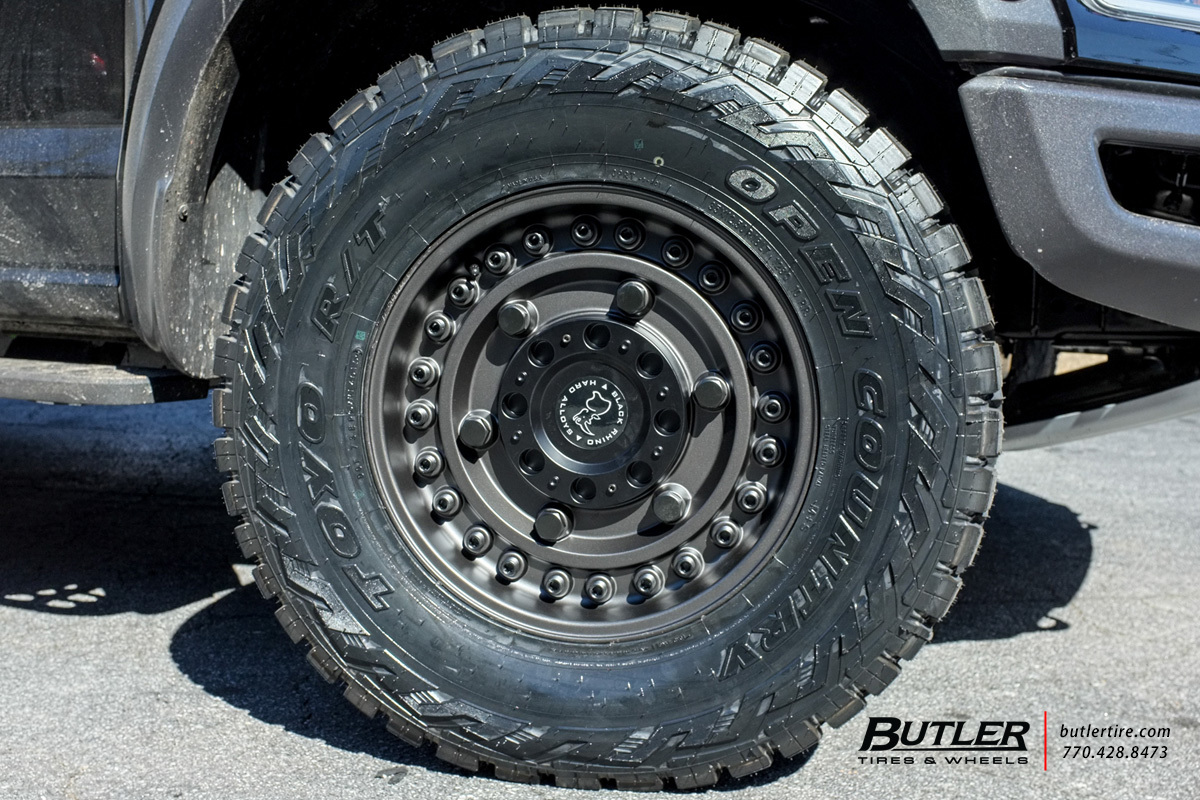 Ford Raptor With 18in Black Rhino Armory Wheels Exclusively From Butler Tires And Wheels In