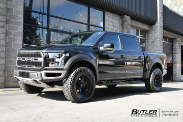 Ford Raptor with 18in Fuel Shok Wheels