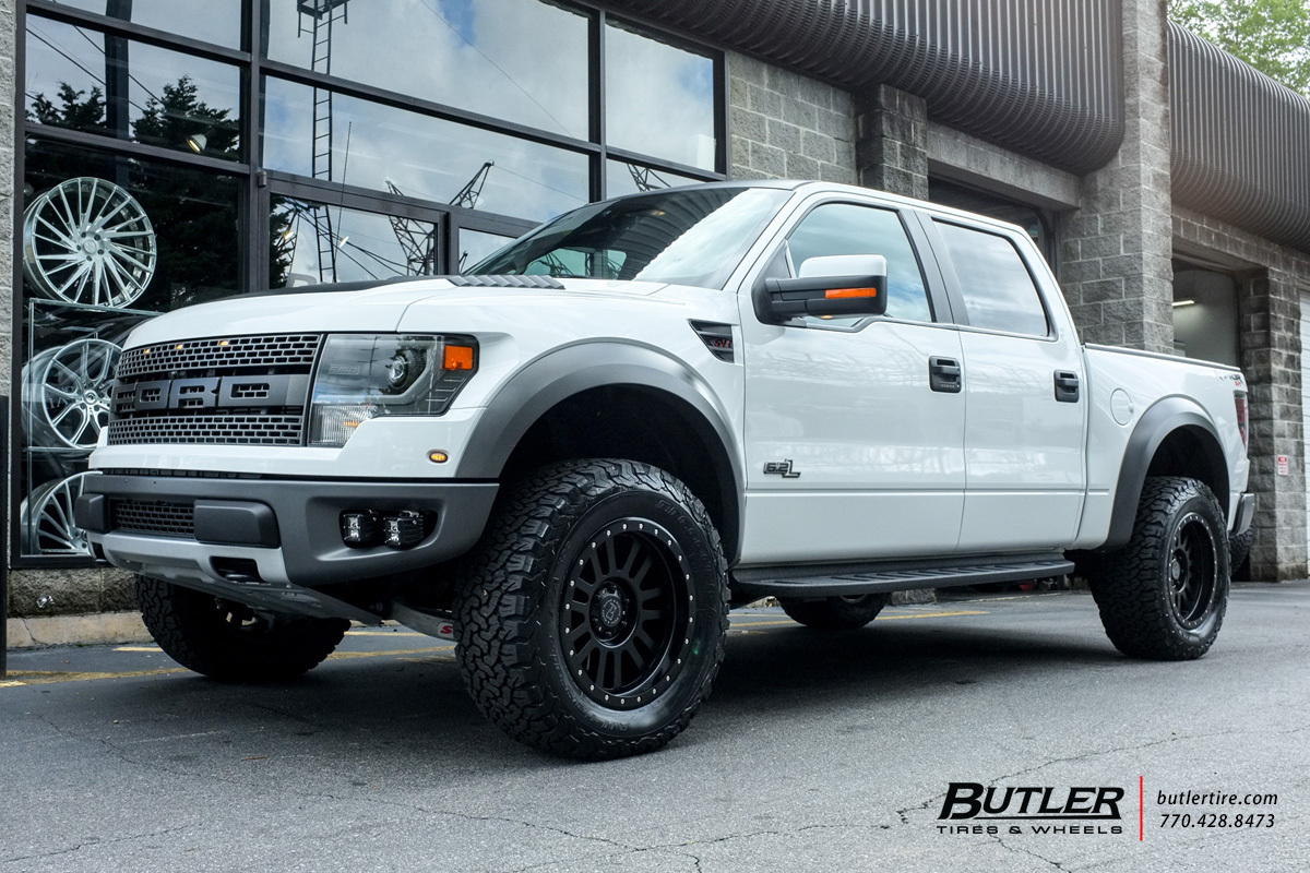 Ford Raptor with 20in Black Rhino El Cajon Wheels ...