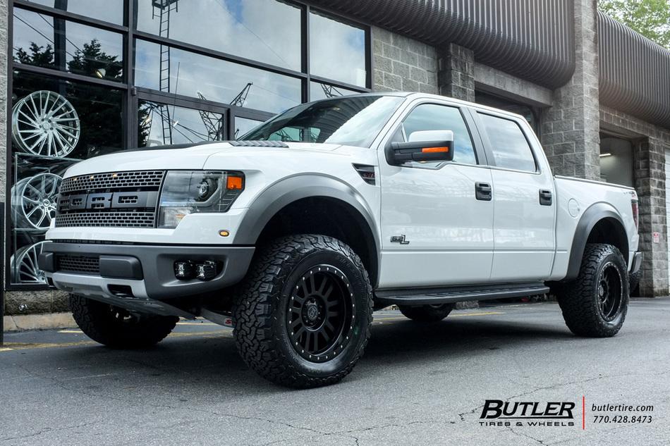 Ford Raptor with 20in Black Rhino El Cajon Wheels ...