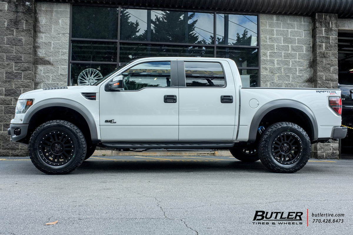 Ford Raptor with 20in Black Rhino El Cajon Wheels