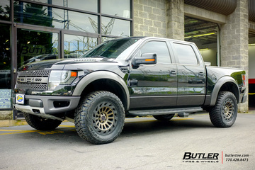 Ford Raptor with 20in Black Rhino Madness Wheels