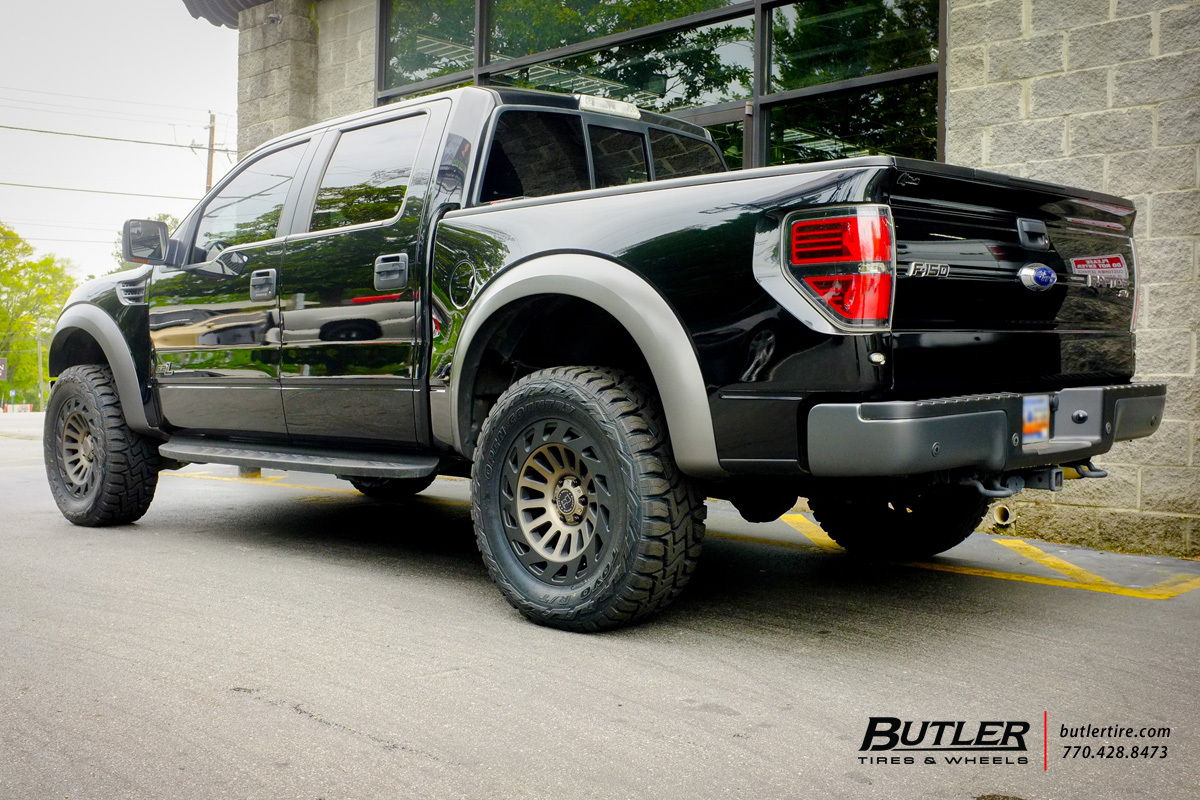 Ford Raptor with 20in Black Rhino Madness Wheels exclusively from ...