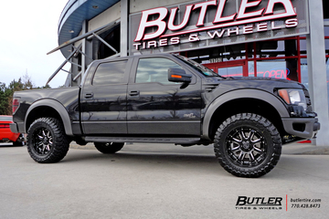 Ford Raptor with 20in Black Rhino Sierra Wheels