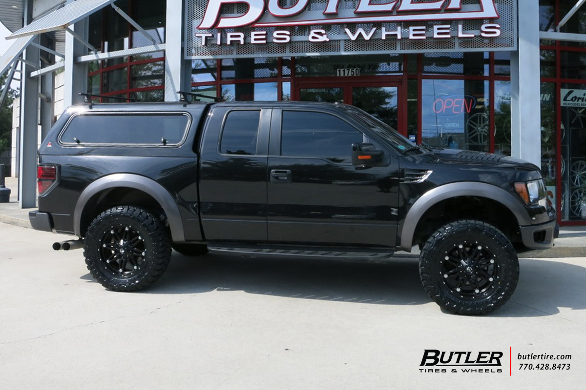 Ford Raptor with 20in Fuel Hostage Wheels