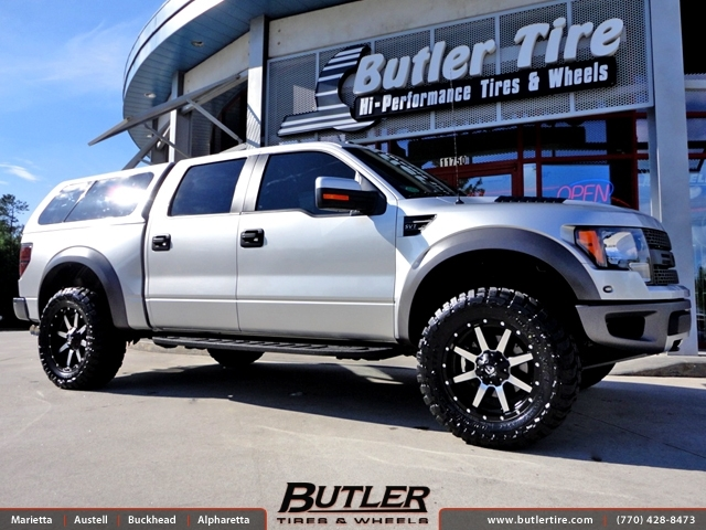 Ford Raptor Interior >> Ford Raptor with 20in Fuel Maverick Wheels exclusively from Butler Tires and Wheels in Atlanta ...