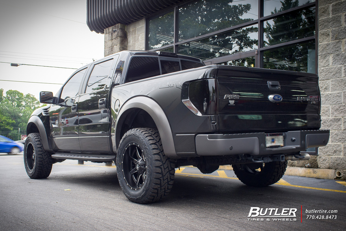 Ford Raptor with 20in Fuel Maverick Wheels