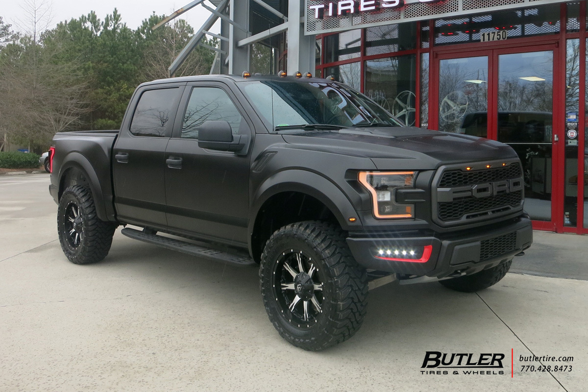 Ford Raptor with 20in Fuel Nutz Wheels