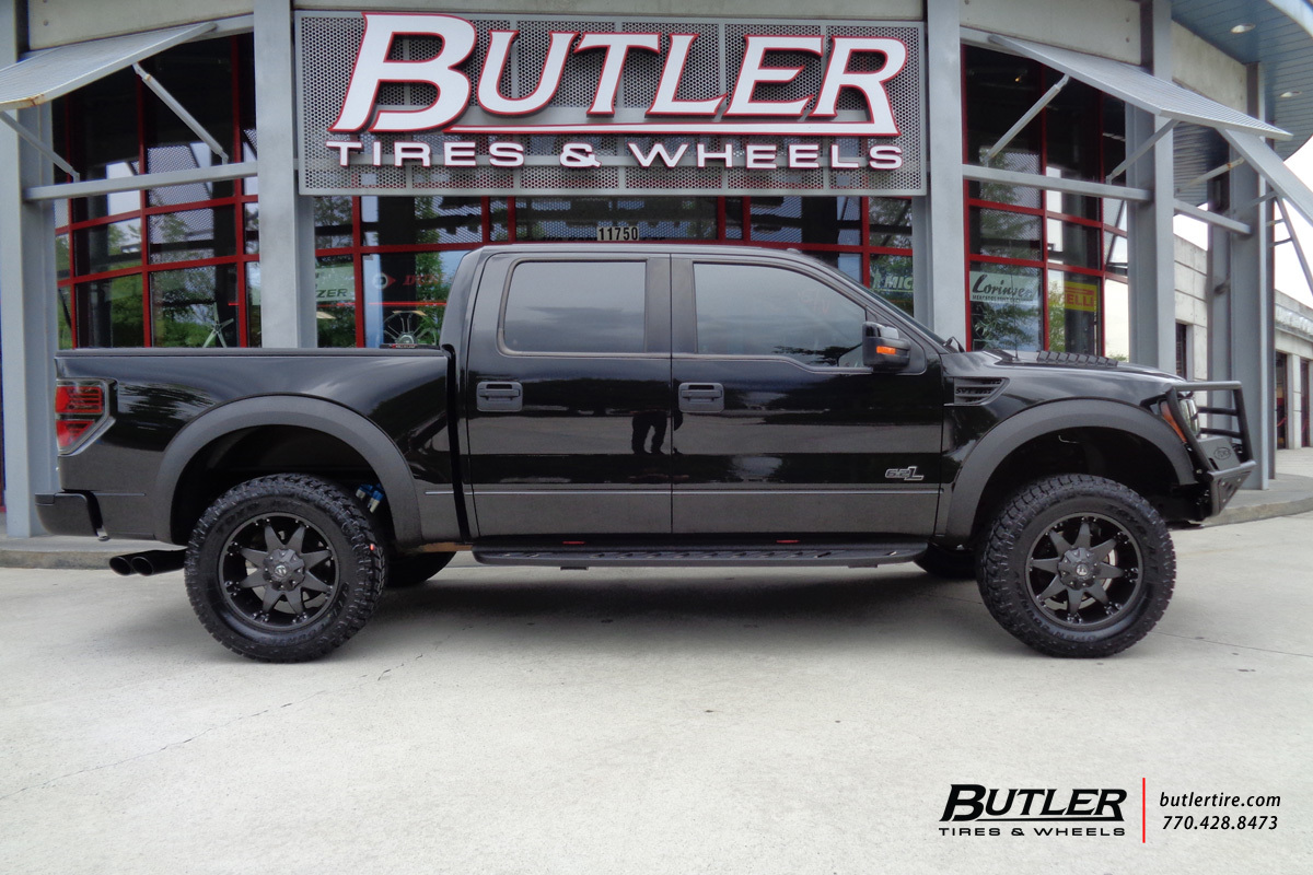 Ford Raptor With 20in Fuel Octane Wheels Exclusively From