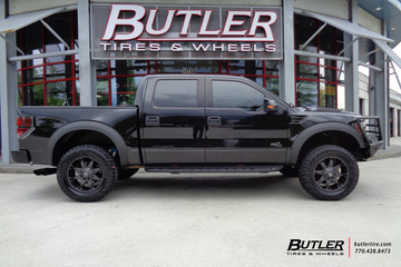 Ford Raptor with 20in Fuel Octane Wheels