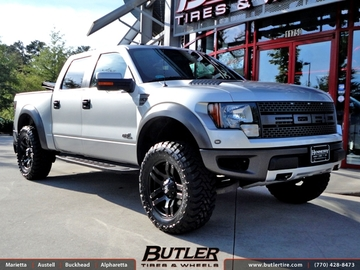 Ford Raptor with 20in Fuel Pump Wheels
