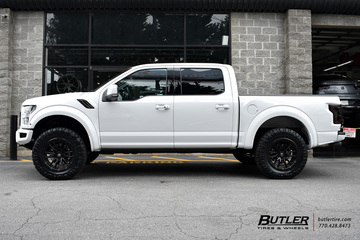 Ford Raptor with 20in Fuel Rebel Wheels