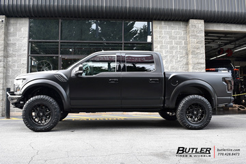 Ford Raptor with 20in Fuel Tech Wheels