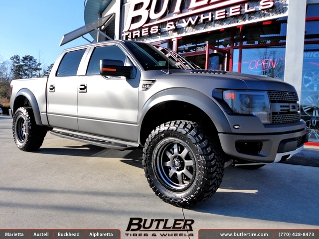 Ford Raptor with 20in Fuel Trophy Wheels
