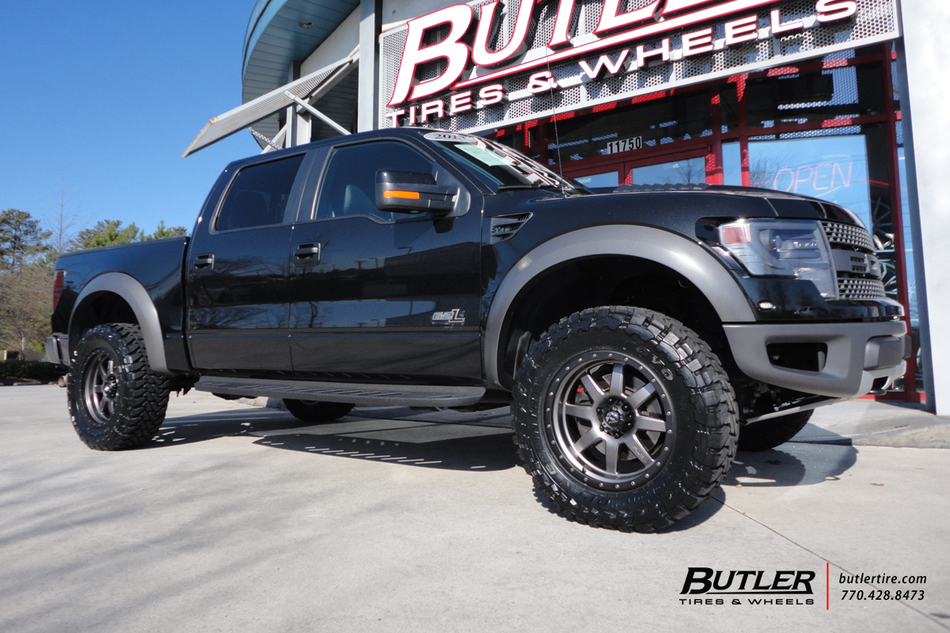 Mini Trophy Truck >> Ford Raptor with 20in Fuel Trophy Wheels exclusively from ...