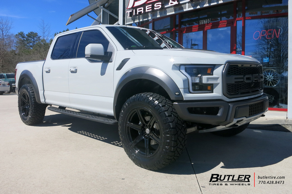 Ford Raptor With 20in Hre Tr46 Wheels Exclusively From