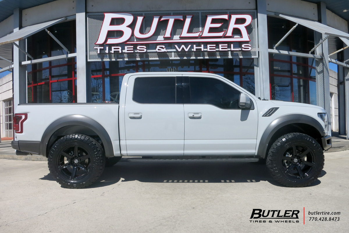 Ford Raptor with 20in HRE TR46 Wheels
