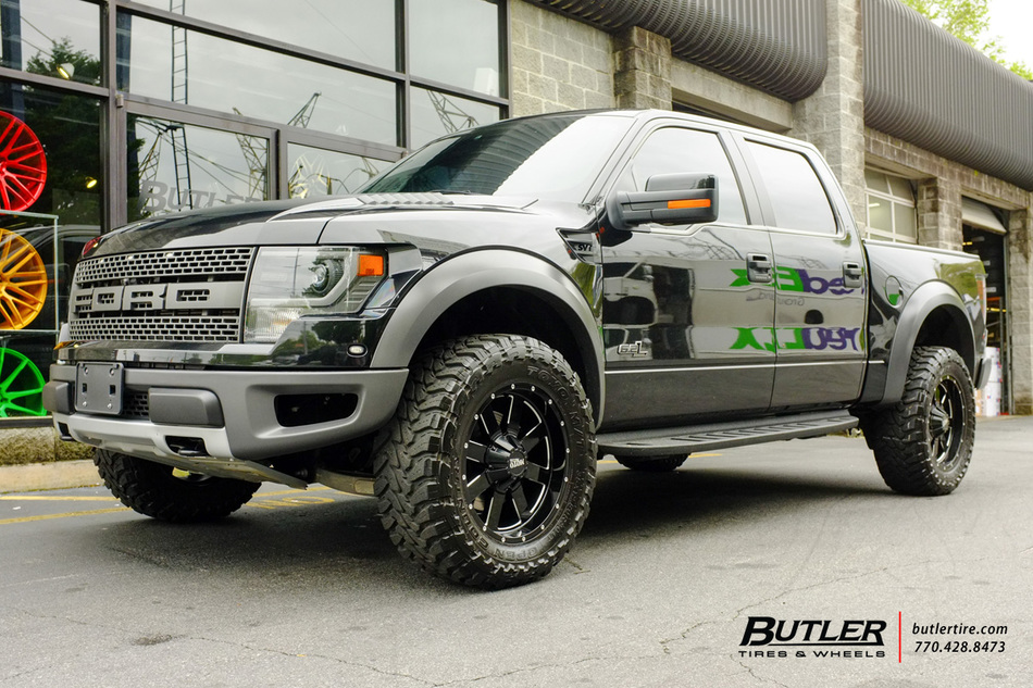 Ford Raptor With 20in Moto Metal 962 Wheels Exclusively