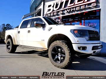Ford Raptor with 20in Vellano VM16 Wheels