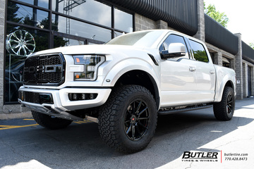 Ford Raptor with 20in Vossen VPS-310 Wheels