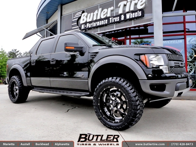 Off Road Rims And Tires Package >> Ford Raptor With 22in Bmf Novakane Wheels Exclusively From