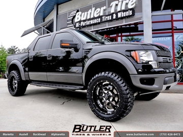 Ford Raptor with 22in BMF Novakane Wheels