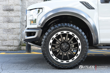 Ford Raptor with 22in Black Rhino Revolution Wheels