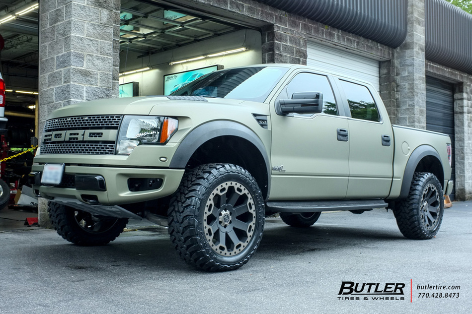 2016 Jeep Truck >> Ford Raptor with 22in Black Rhino Warlord Wheels exclusively from Butler Tires and Wheels in ...