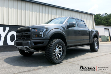 Ford Raptor with 22in Fuel Assault Wheels