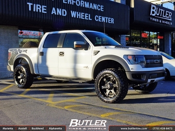 Ford Raptor with 22in Fuel Driller Wheels